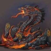 Mayan Lava Serpent