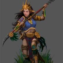 Mayan Female Warrior