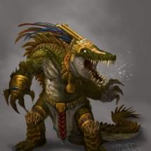 Mayan God: Gator