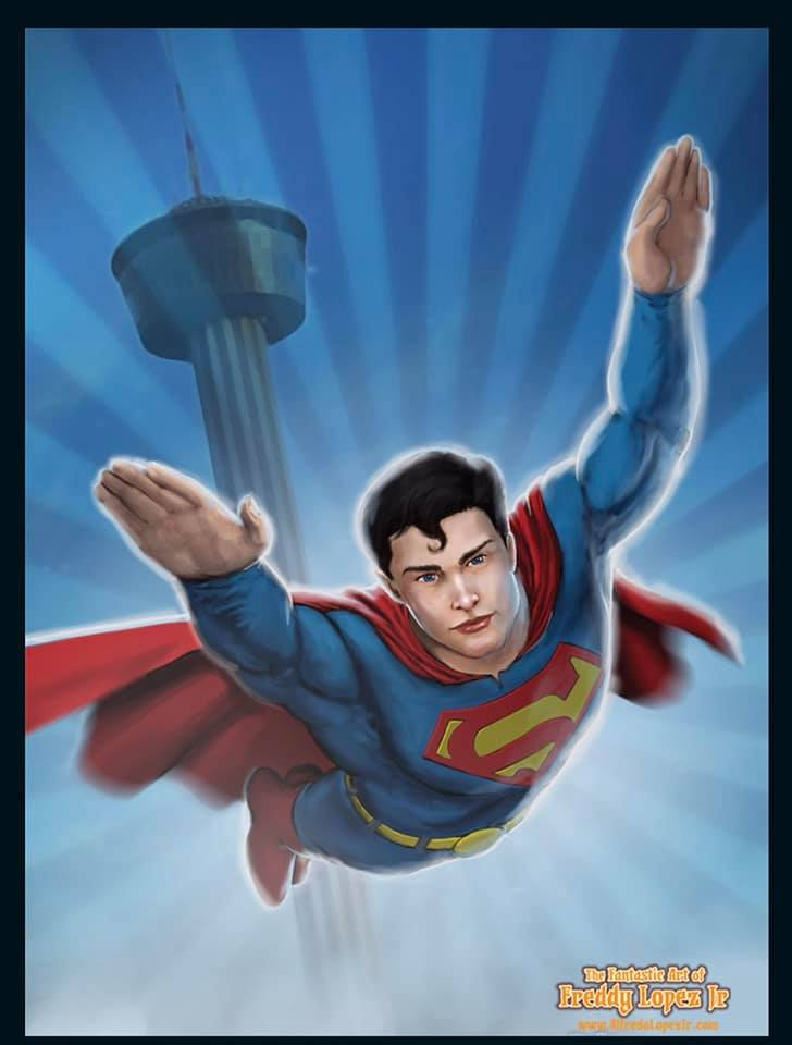 Superman over SA