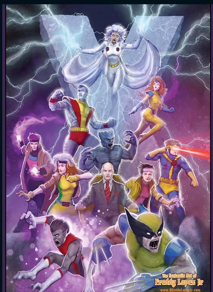X-Men 80's Reunion